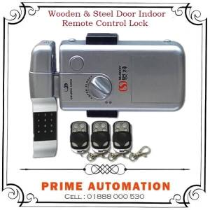 Wooden / Steel Door Remote Control Indoor Lock