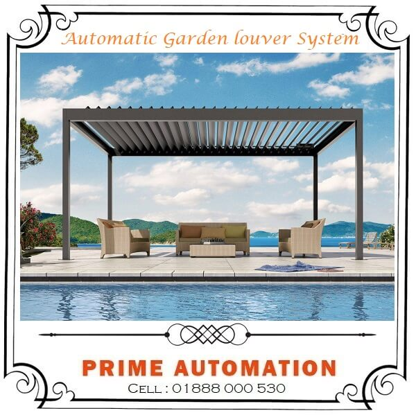Automatic Garden Roof Louver System