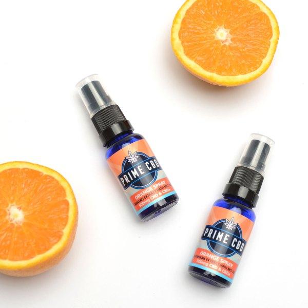 orange cbd spray