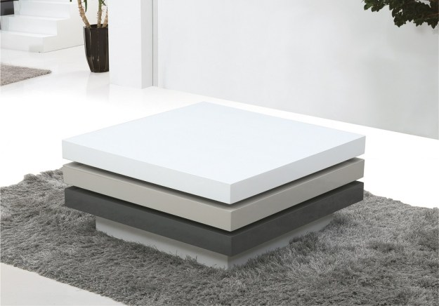 contemporary high gloss lacquer swivel coffee table philadelphia