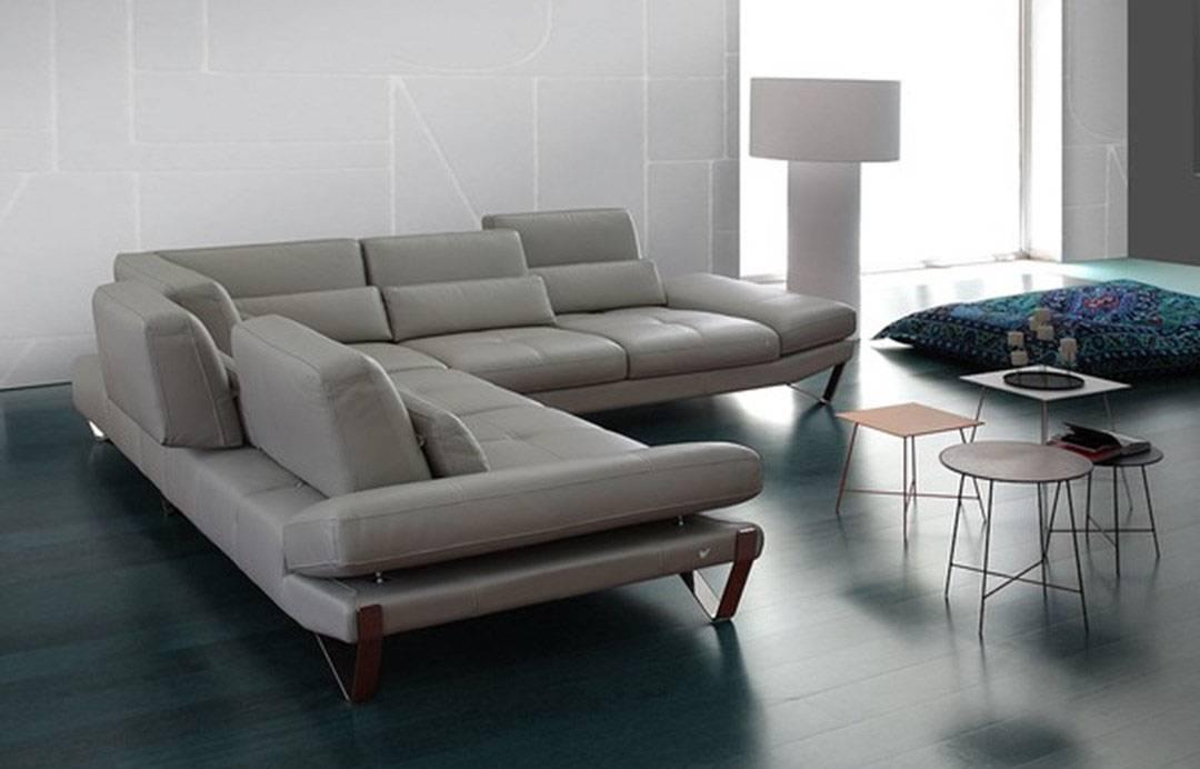 luxury modern genuine italian sectional