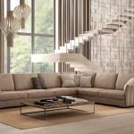 Italian Sectional Sofa Set In Luxury Leather Fort Worth Texas Idp Italia Coutur