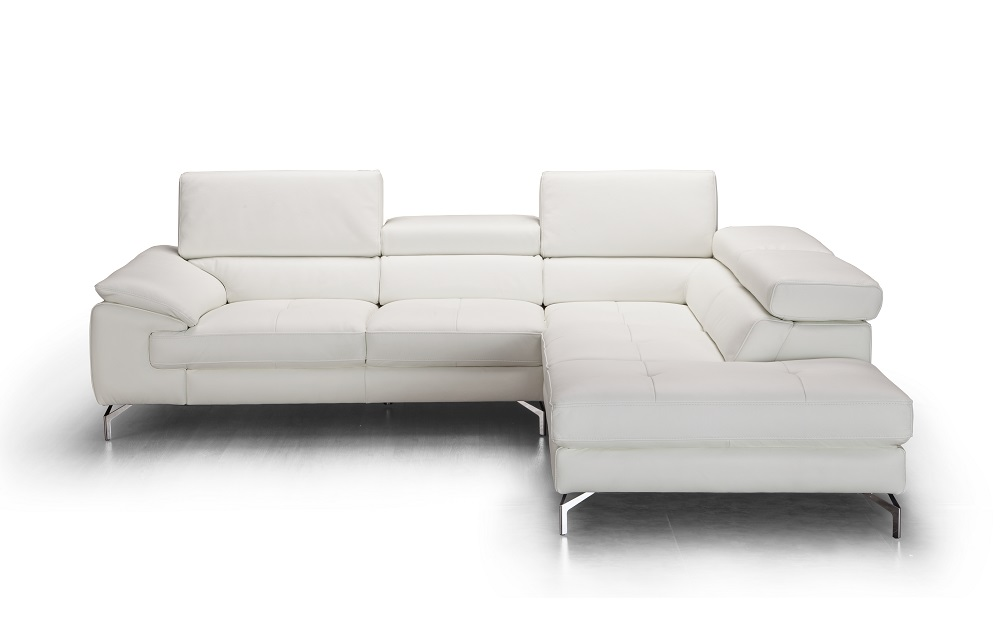 Studio mcgee modern, contemporary, or traditional—no matter your home's current style, leather furniture can add a t. Unique Tufted Genuine Leather Sectional Aurora Illinois J ...