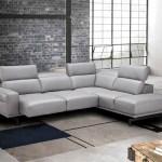 Adjustable Advanced Italian Top Grain Leather Sectional Sofa