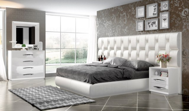 Elegant Wood Luxury Contemporary Furniture Set Baltimore ...