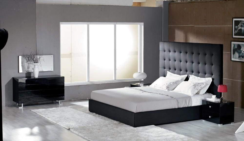 Unique Leather Luxury Bedroom Set St Louis Missouri V LYRICA