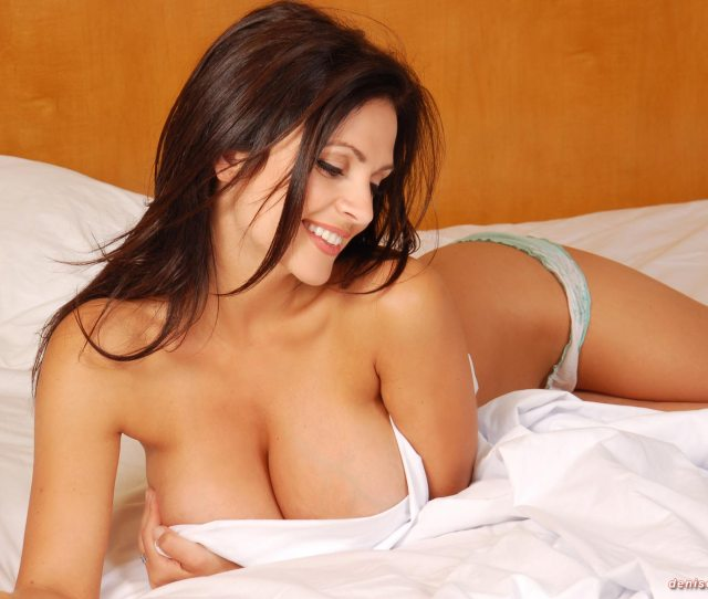 Denise Milani In Bed  C B Denise Milani In Bed