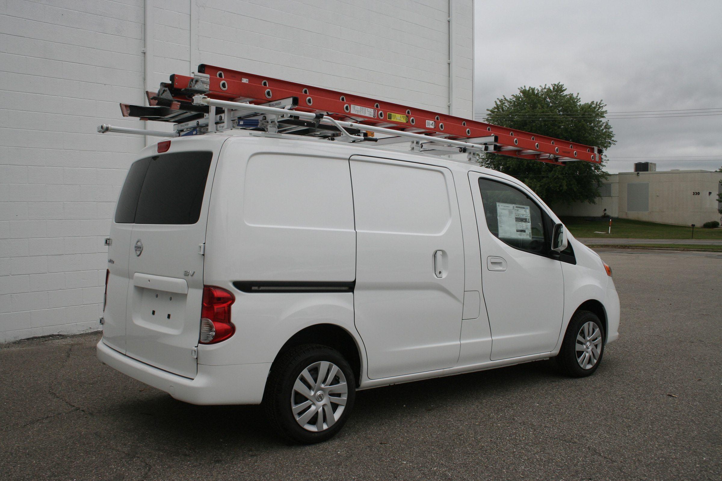 nissan nv200 with ergorack prime design