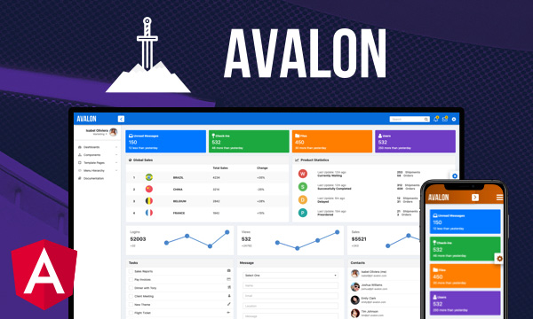 Avalon for PrimeNG