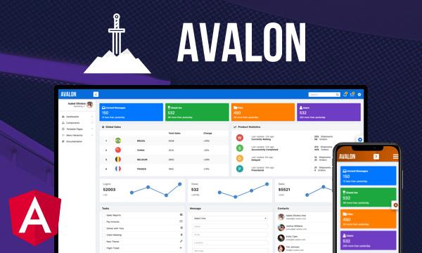 Avalon for PrimeNG