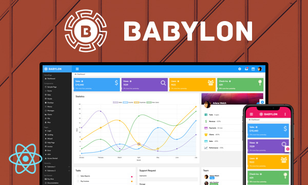 Babylon for PrimeReact