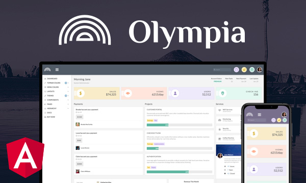 Olympia for PrimeNG