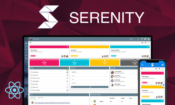 Serenity for PrimeReact