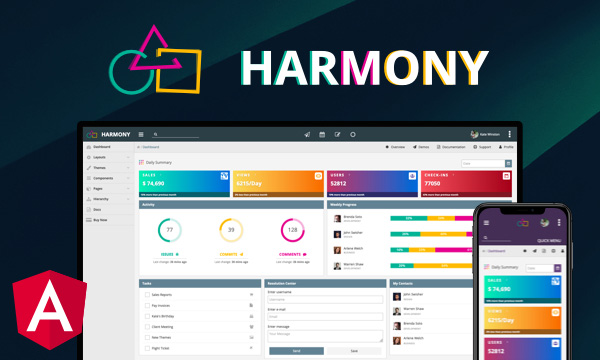 Harmony for PrimeNG