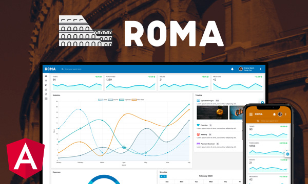 Roma for PrimeNG