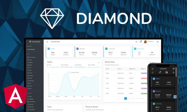 Diamond for PrimeNG