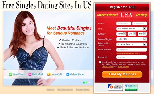 Free onkine dating site in usa