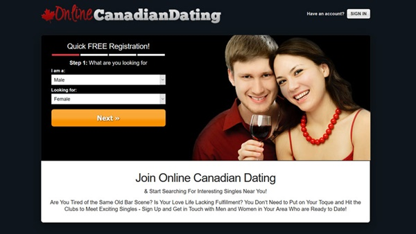 free online canadian dating sites