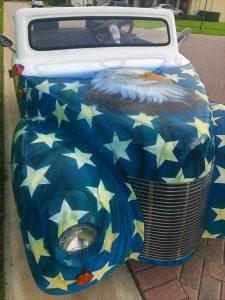 Custom American Cart body paint 39 Roadster
