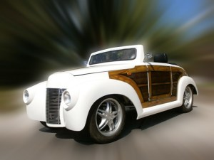 Custom Woody 39 Roadster