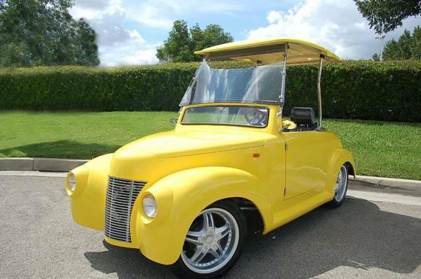 39 Roadster Golf Cart | 39 Roadster Golf Car | LSV Golf Cart on 2002 chrysler gem cart, car cart, box cart,