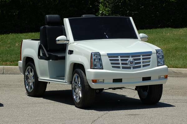 Escalade Golf Cart | Cadillac Escalade Golf Car | Escalade Cart