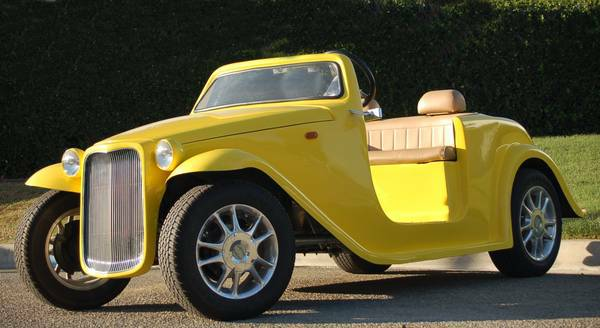 California Roadster Yellow