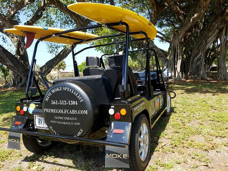 black moke golf cart, moke golf car, black moke gallery