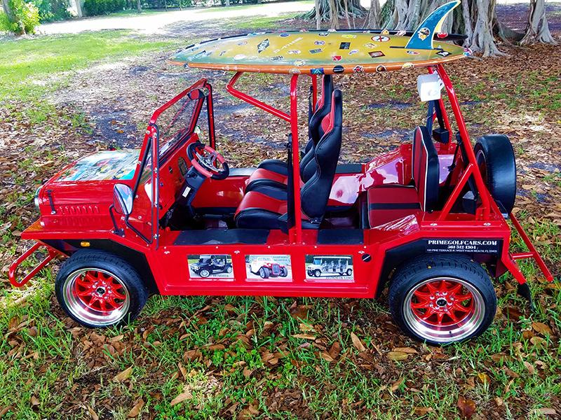 moke golf car