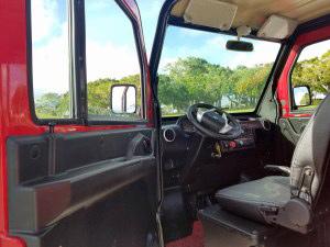 inside a revolution golf car