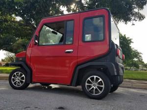 red revolution golf car