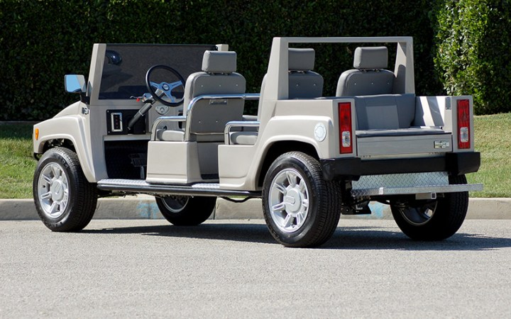 hummer limo golf car, hummer limo golf cart, golf cart, golf car