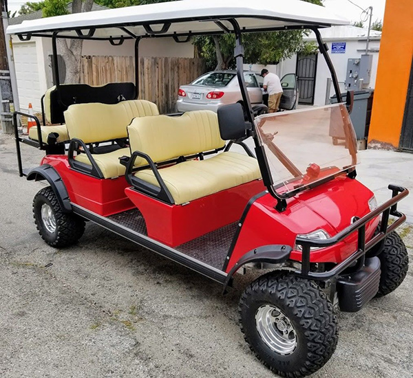 evolution forester 6/8 passenger golf cart, forester 6/8 passenger golf cart, golf cart