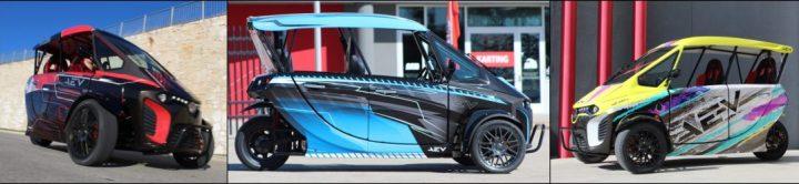 aev 311, aev 311 electric vehicle, electric vehicle rental