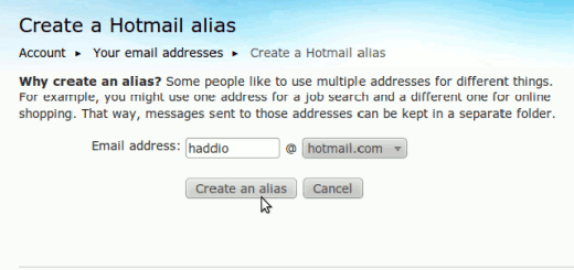 Hotmail Disposable Email ID Creation
