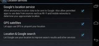 How To Use Google Location Service And GPS On Nexus 7