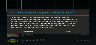 How To Configure Sync Options On Nexus 7
