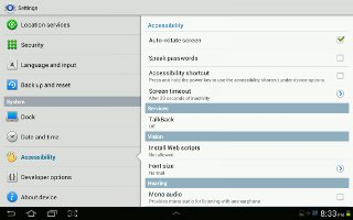 How To Customize Accessibility Services On Samsung Galaxy Tab 2