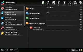 How To Use Polaris Office On Samsung Galaxy Tab 2