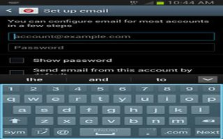 How To Customize Email Settings On Samsung Galaxy Note 2
