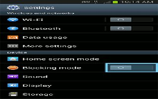 How To Use Blocking Mode On Samsung Galaxy Note 2