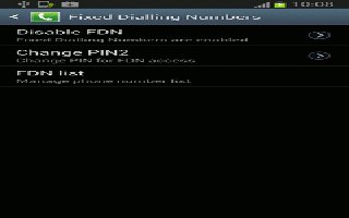 How To Use FDN On Samsung Galaxy Note 2