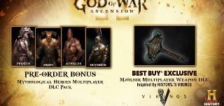 Buy God of War: Ascension At Best Buy And Get Mjölnir DLC