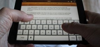 How To Enter Text On iPad Mini
