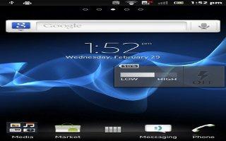 How To Use Widgets On Sony Xperia Z