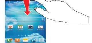 How To Use Notifications Panel On Samsung Galaxy S4