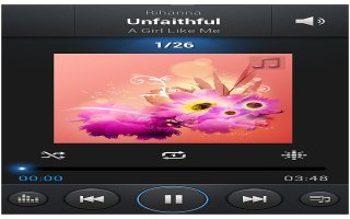 How To Use Music Player App - Samsung Galaxy Note 3