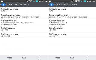 How To Update Software - LG G2