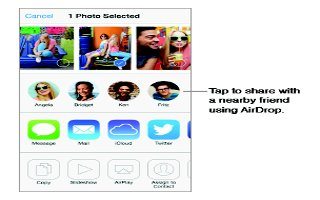 How To Share Photos And Videos - iPhone 5S