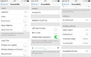 How To Use Settings And Adjustments - iPhone 5S